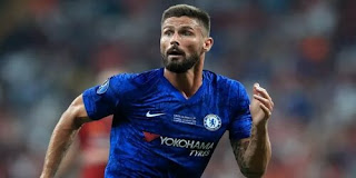 Chelsea striker Olivier Giroud agrees terms with Inter Milan