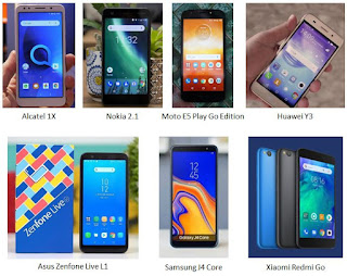 Contoh produk Android One