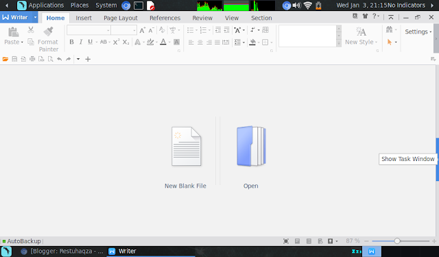 WPS Office di OS Linux