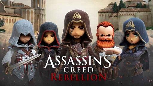 pada kesempatan kali ini admin akan membagikan sebuah game android mod terbaru yang berge Assassin's Creed: Rebellion Mod Apk v2.1.0 (God Mode/High Damage)