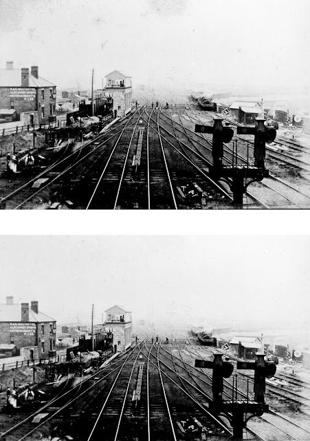 Railway Junction Before and After