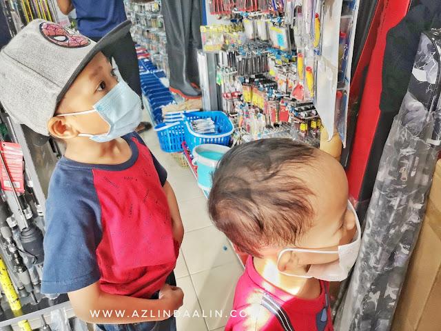 HOLIDAY LANGKAWI PART 3 :  DAY 1 SHOPPING BARANG PANCING DI TCE TACKLE LANGKAWI