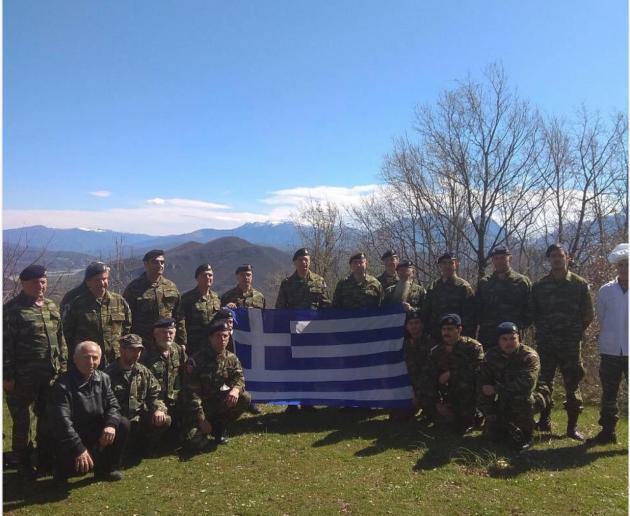 Βροντερό μήνυμα του αρχηγού ΓΕΣ σε μια επίσκεψη υψηλού συμβολισμού στα Ελληνοαλβανικά σύνορα!