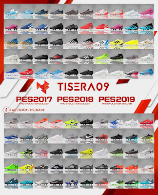PES 2019/2018/2017 Bootpack Season 2019/2020 by Tisera09