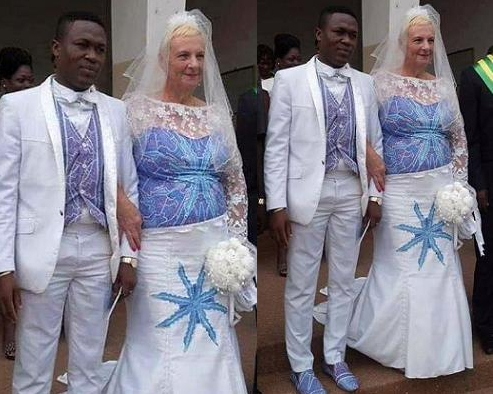 ghanaian boy marries white grandma