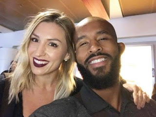 Johnson With His Beautiful Wife Destiny