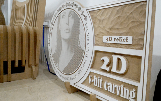 2D Carving Output, Norde Davao