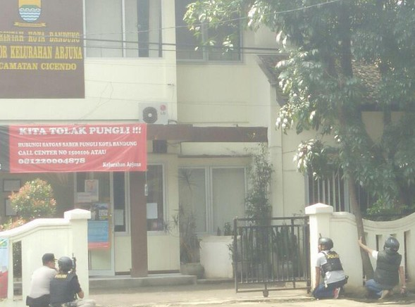 """Kehadiran Raja Salman di Indonesia, di Bandung Heboh Teror Bom """"Lari"""""""