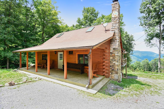 mountain cabin, West Virginia
