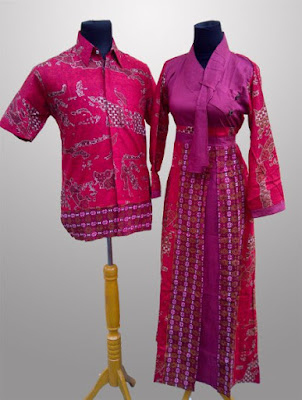 Model Baju Batik Keluarga Modern