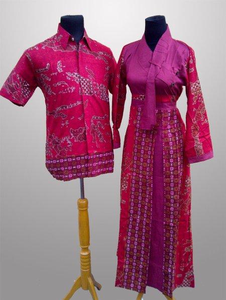 model baju batik pesta keluarga Terbaru