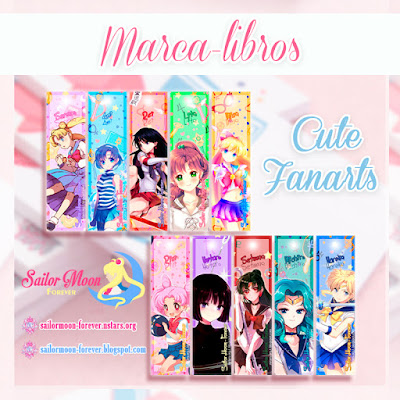 Marca-libros de Sailor Moon por Sailor Moon Forever