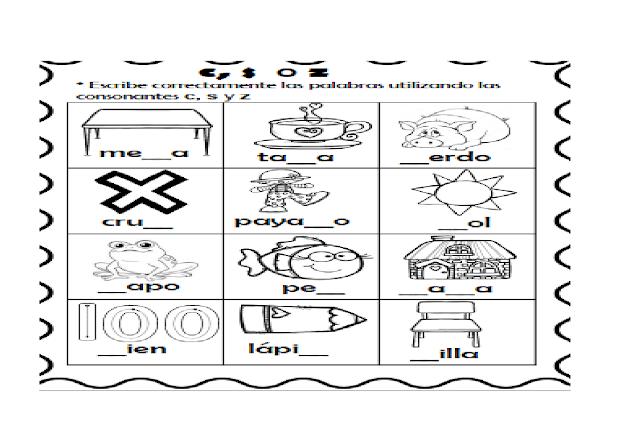 dinamicas,juegos,actividades,ortografia