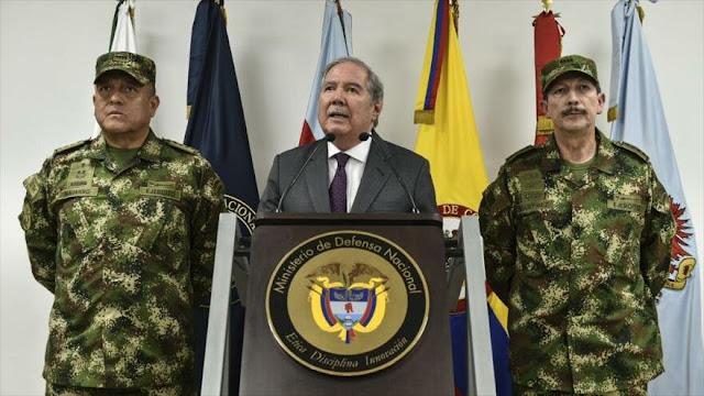 Dimite ministro de Defensa de Colombia tras muerte de ocho niños