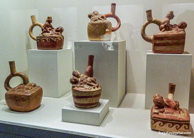 Coleção de arte erótica pré-colombiana do Museu Larco, Lima, Peru