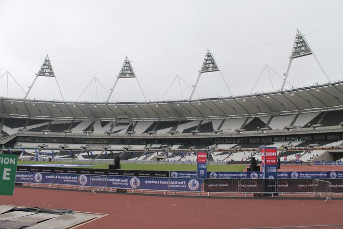 olympic stadium running