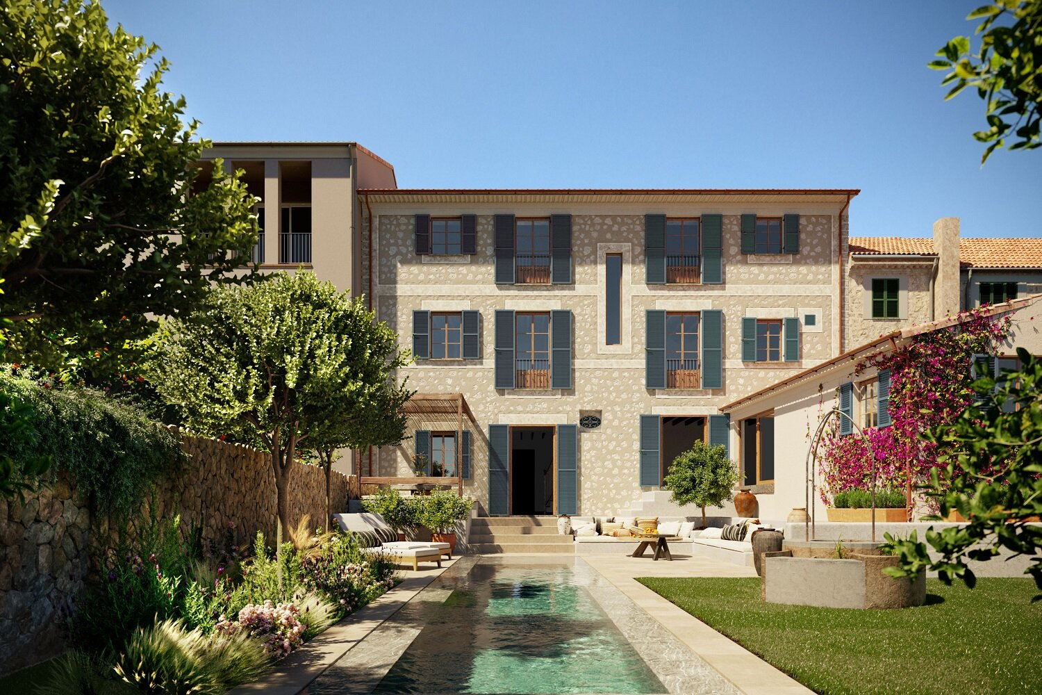 Canoneta Townhouse on Mallorca island
