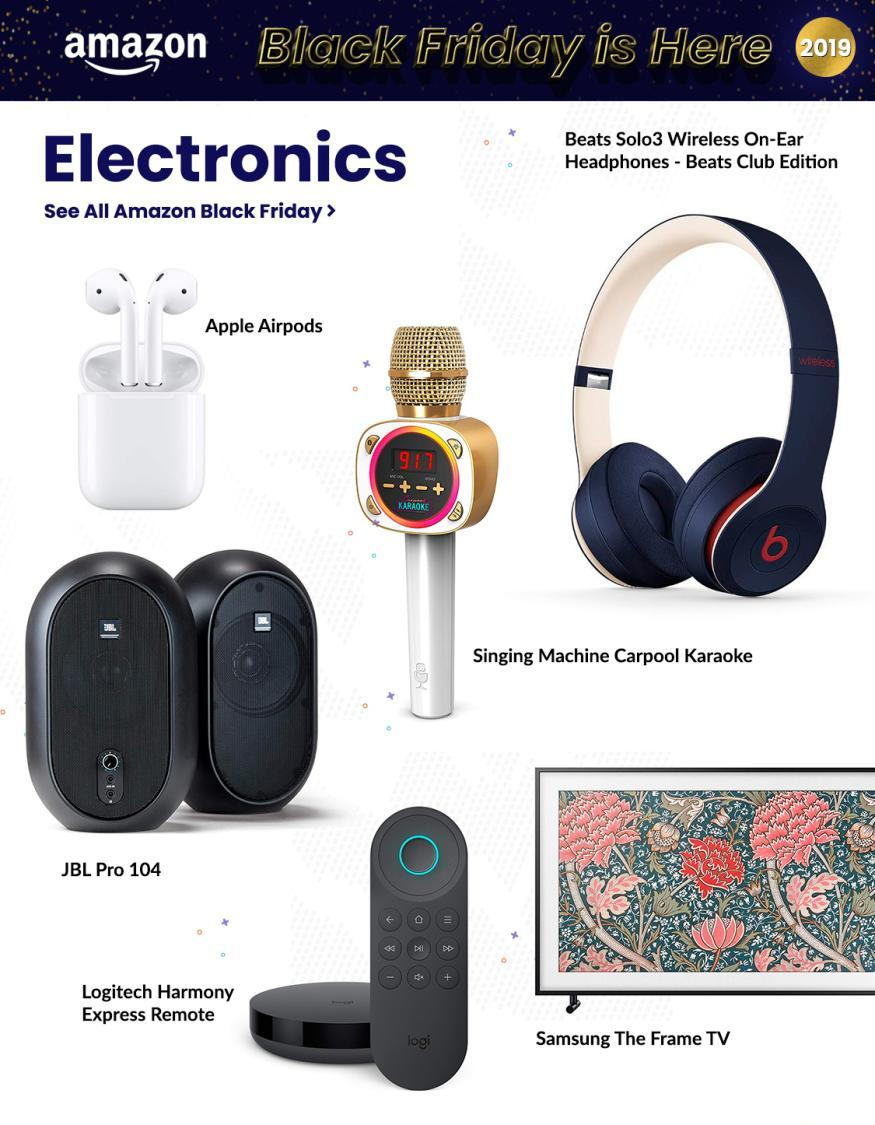 Amazon Black Friday 2019 Ad Page 2