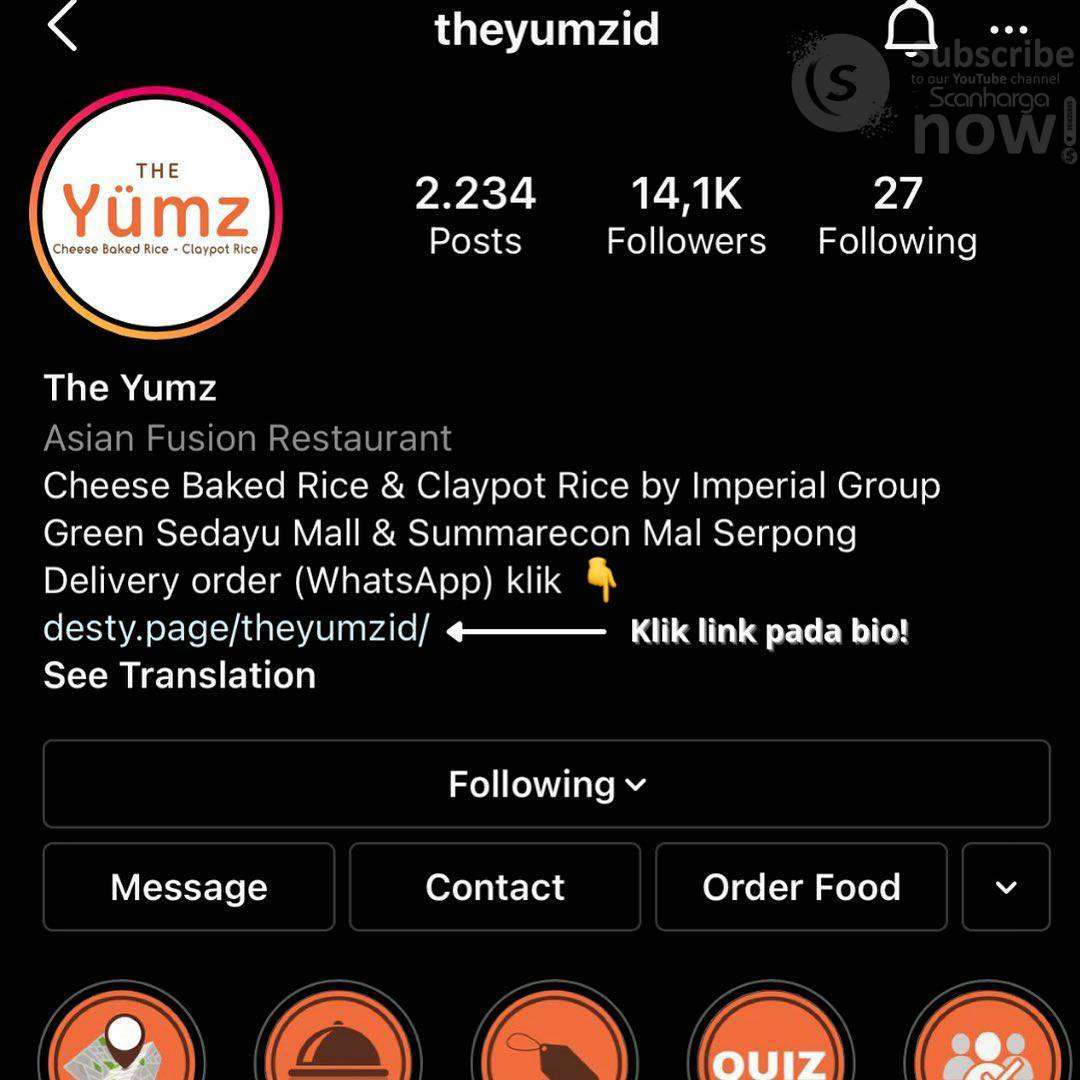 The Yumz Promo Diskon hingga 35% khusus Delivery 2