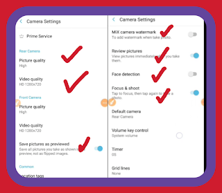 How to All settings mix camera app for Android phone, tutorial Bangla