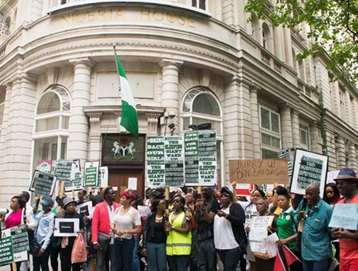 UK Govt Grants Diaspora Nigerians Right To Protest Enugu Massacre