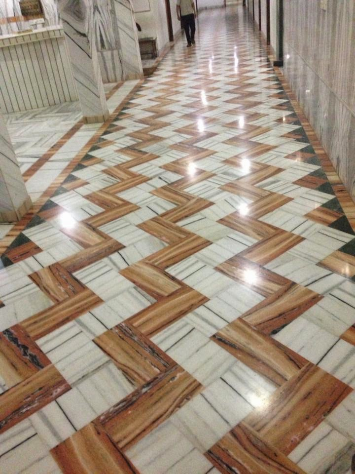 3 Home Decor Trends For Spring Brittany Stager: Makrana Marble Product And Pricing Details: FLOORING PATTERN