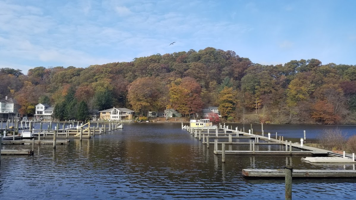 Fall colors at The Southerner, Saugatuck, MI