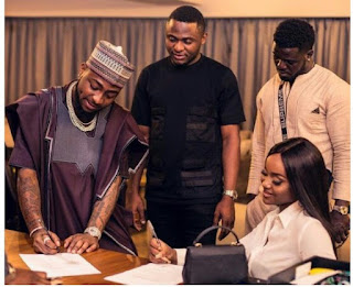 Davido Breaks Silence Over Reports That Ubi Franklin Duped Him And Chioma