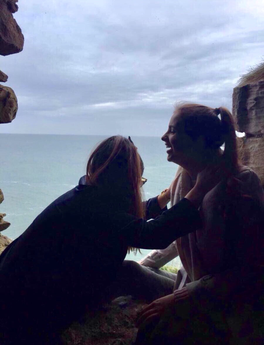 Girls Travel Laughing