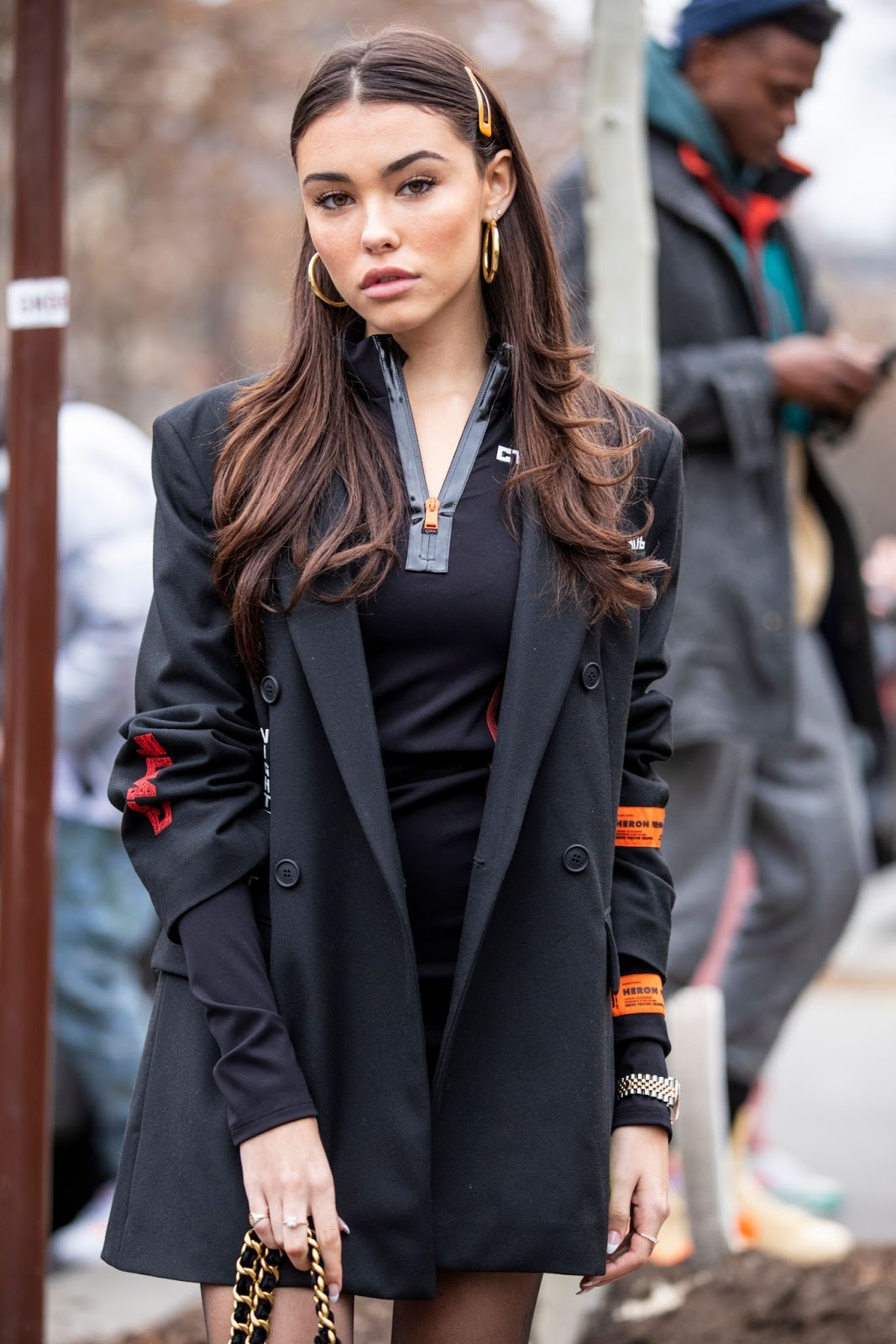 Madison Beer - Spotted after the Heron Preston show in Paris, France - 01/15/2019
