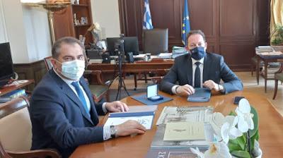 Στο ΥΠ.ΕΣ. ο δήμαρχος για τα έργα που διεκδικεί ο Δήμος Καλαμάτας