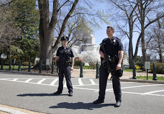 US Capitol Building Gunshot heard in Washington