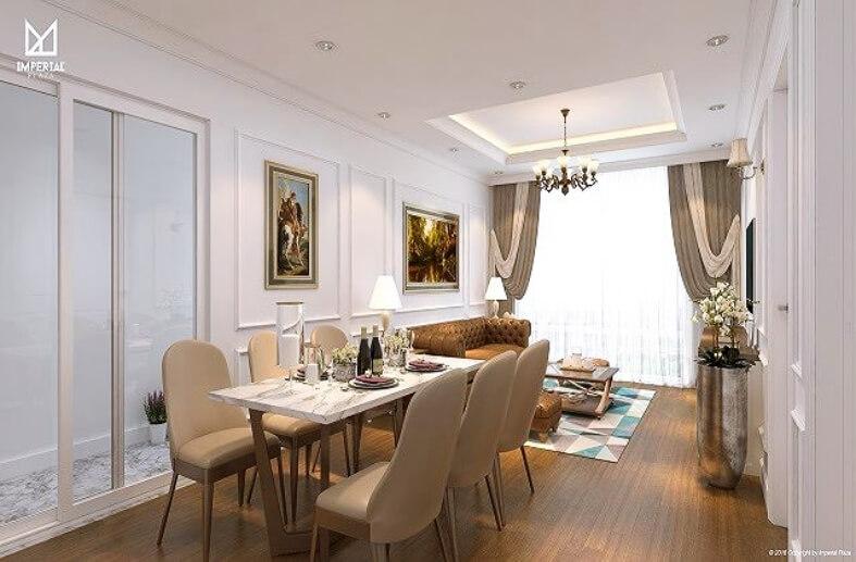Hình ảnh căn hộ khi bàn giao của dự án 360 Giải Phóng