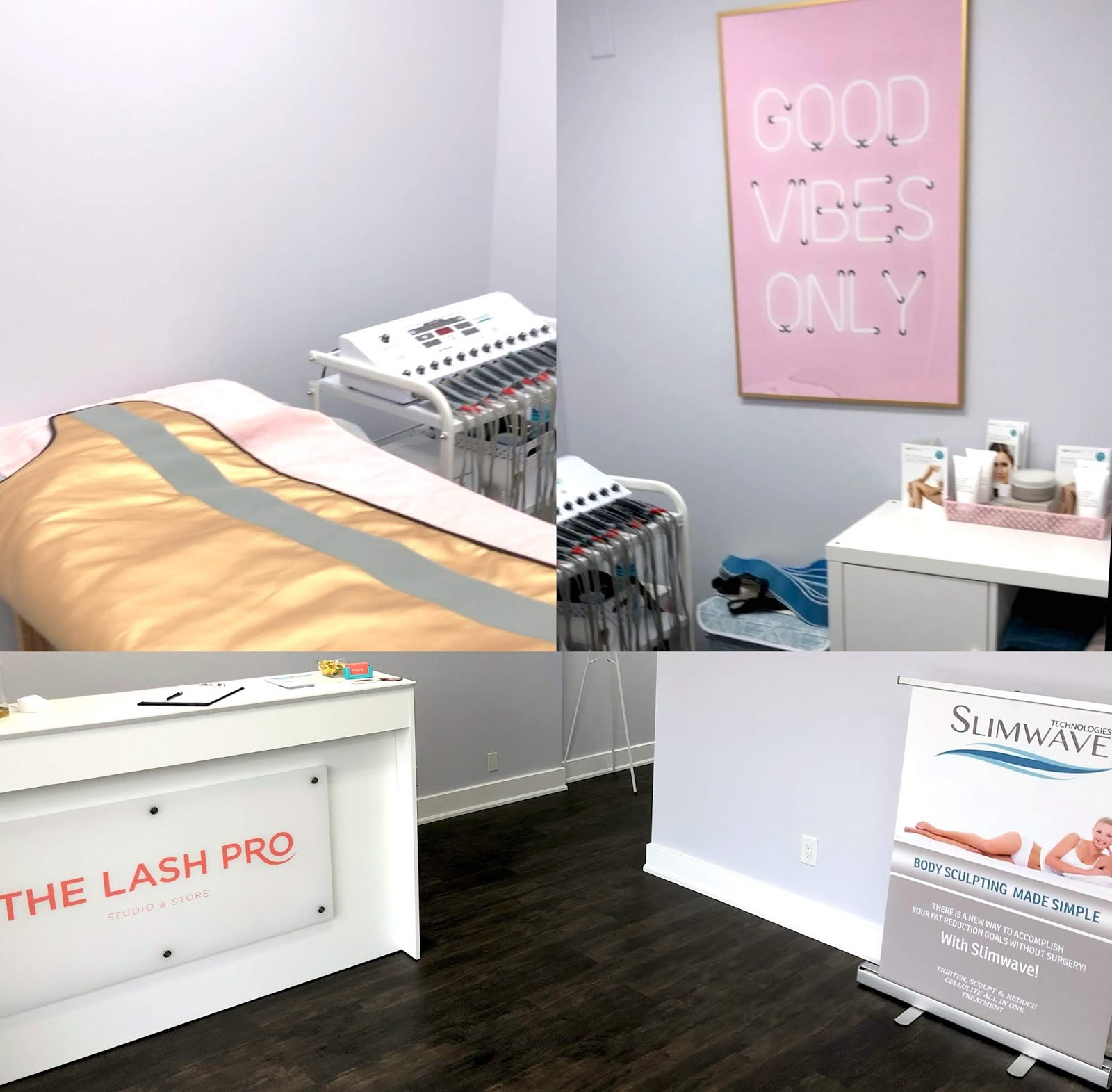 SlimWave at the Lash Pro Studio