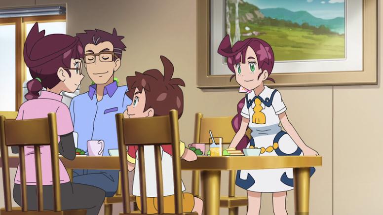 Chloe Família Pokémon