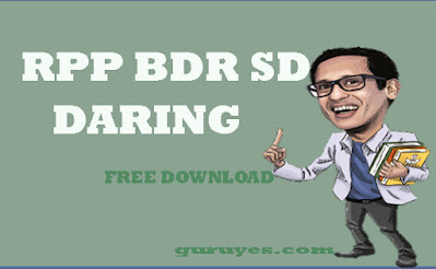 Download Gratis RPP Daring SD Kelas 1
