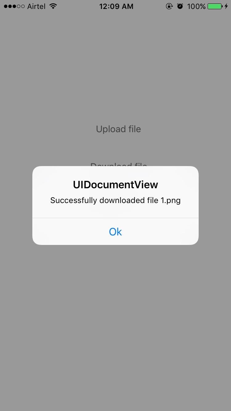 iOS Bucket: UIDocumentPickerViewController and