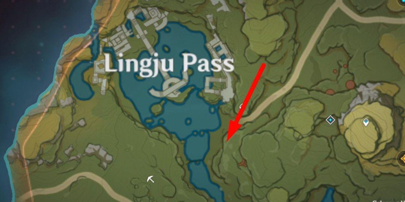 Genshin Impact - Where to Find Strange Hilichurls map