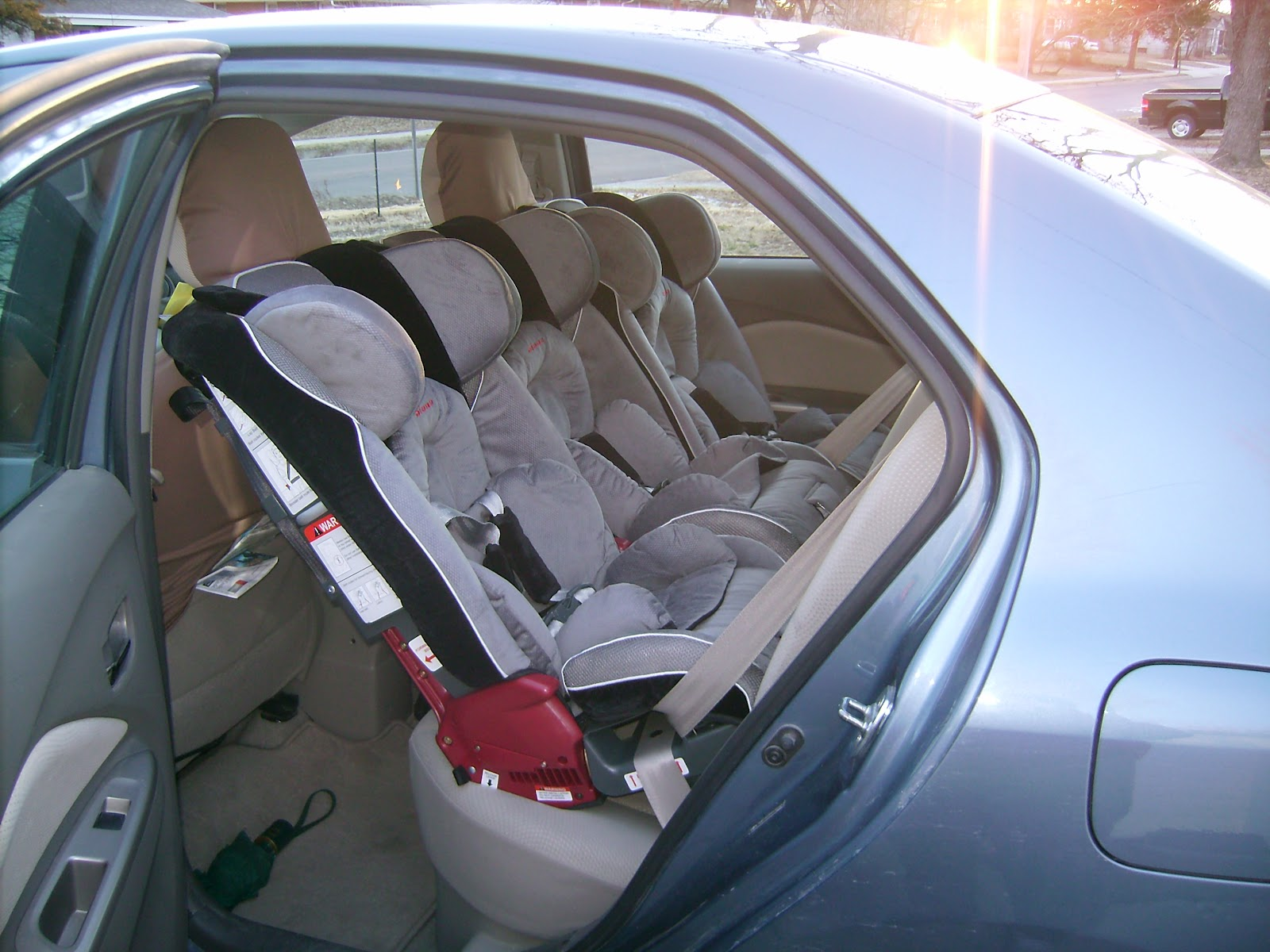 What A Trip The Es Triplets Can You Fit 3 Car Seats