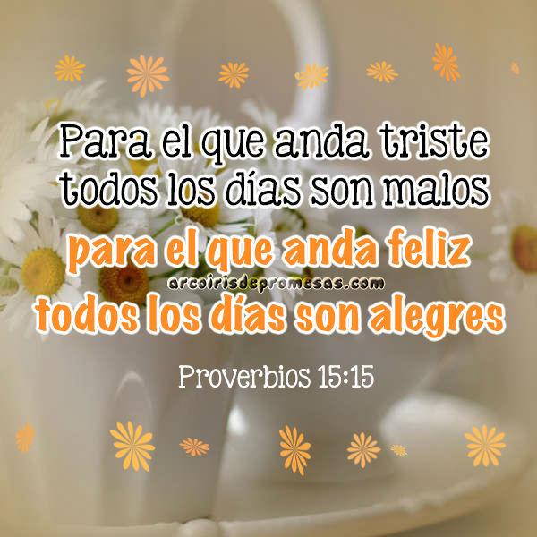 días tristes vs días alegres devocionales cristianos arcoiris de promesas