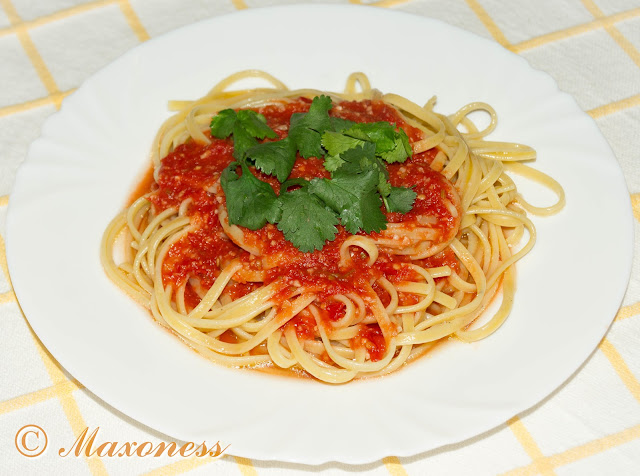 Паста с быстрым томатным соусом от Гордона Рамзи