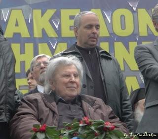 Νίκος Λυγερός - Και το Συλλαλητήριο της Αθήνας είναι πλέον ιστορικό! Η γενναιότητα του Μίκη φάνηκε ακόμα και πάνω στο καροτσάκι (Βίντεο-Φώτο)