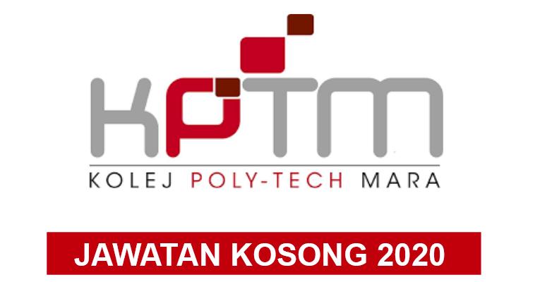 Jawatan Kosong Terkini di Kolej Poly Tech Mara (KPTM)