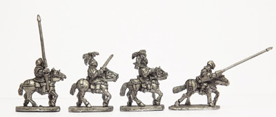 ER18 - Men-at-arms, mounted: