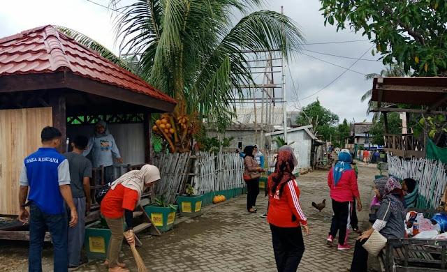 Tim DP3AP2KB Bina Kampung KB, Di Desa Bontosunggu