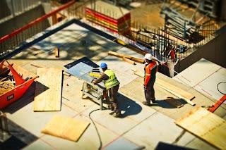 civil engineer construction site