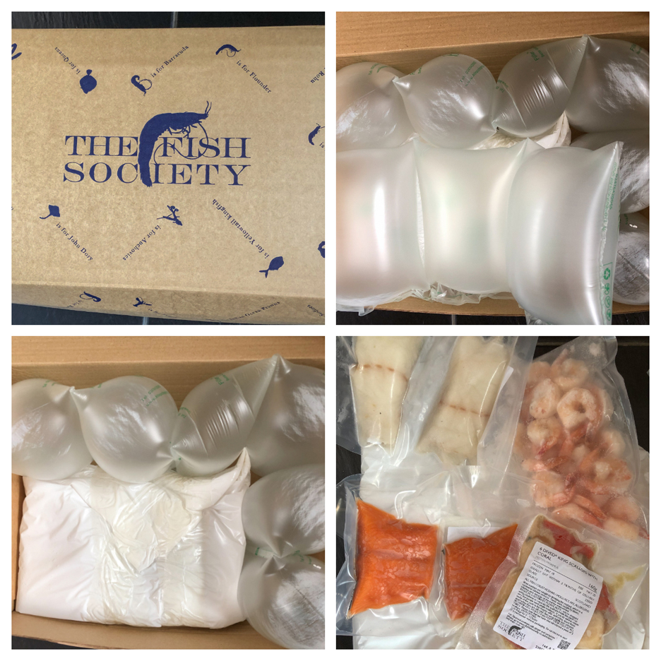 The Fish Society Packaging