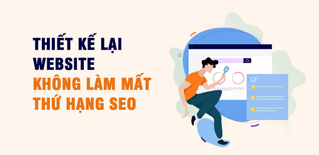 thiet ke lai website khong lam mat thu hang seo