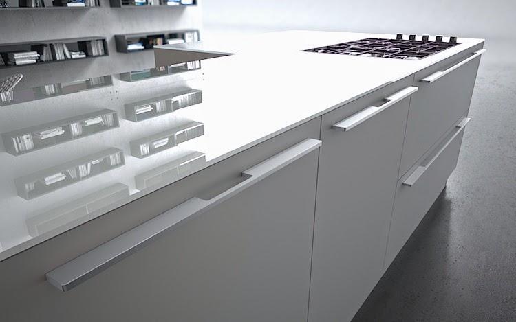 Tiradores de cocina peque os y necesarios accesorios - Tiradores cocina modernos ...