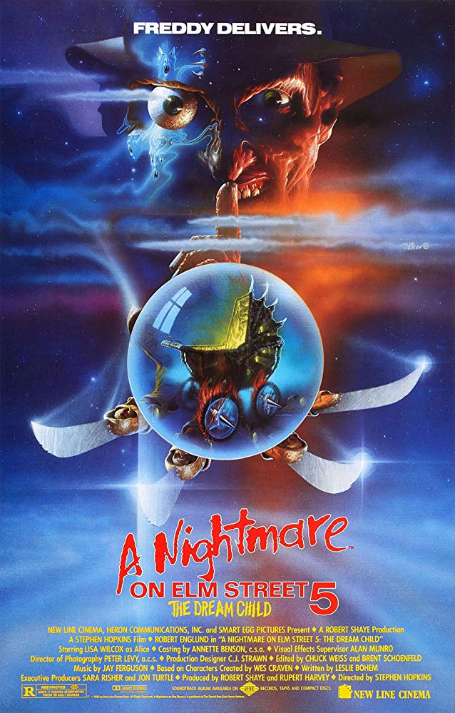 "Movie Review: ""A Nightmare on Elm Street 5: The Dream Child"" (1989)"